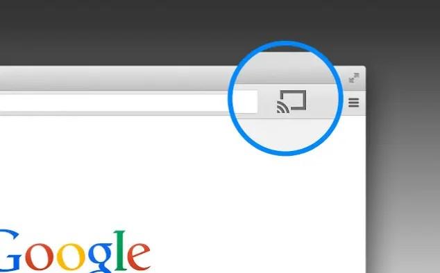 Caster du Chromebook vers Chromecast