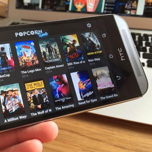 Popcorn Time sur Chromecast