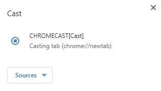 Chromecast pour Chrome