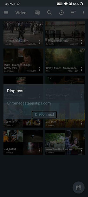 Ace Stream sur Chromecast