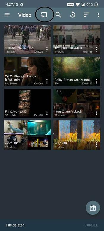 Ace Stream sur Chromecast