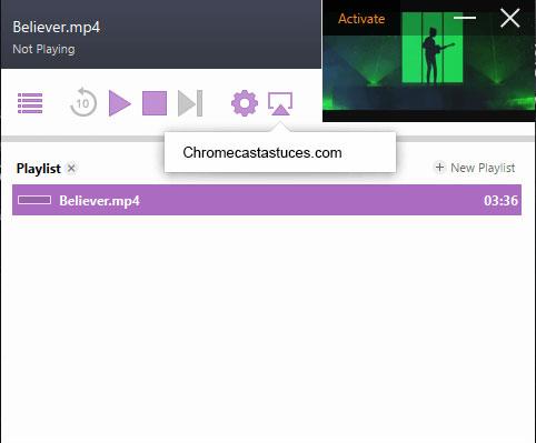 Airflow sur Chromecast