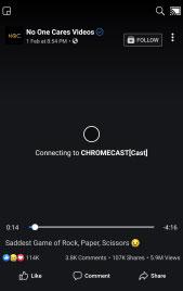Facebook Videos sur Chromecast