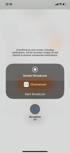 zoom sur Chromecast