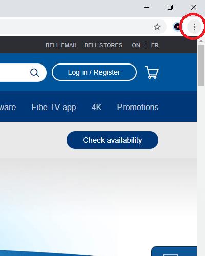 Fibe TV sur Chromecast