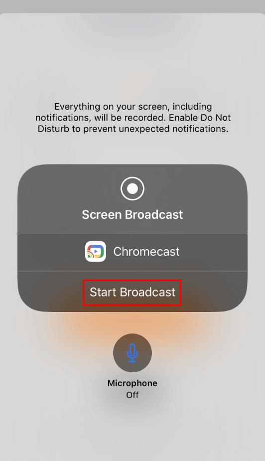 Safari sur Chromecast